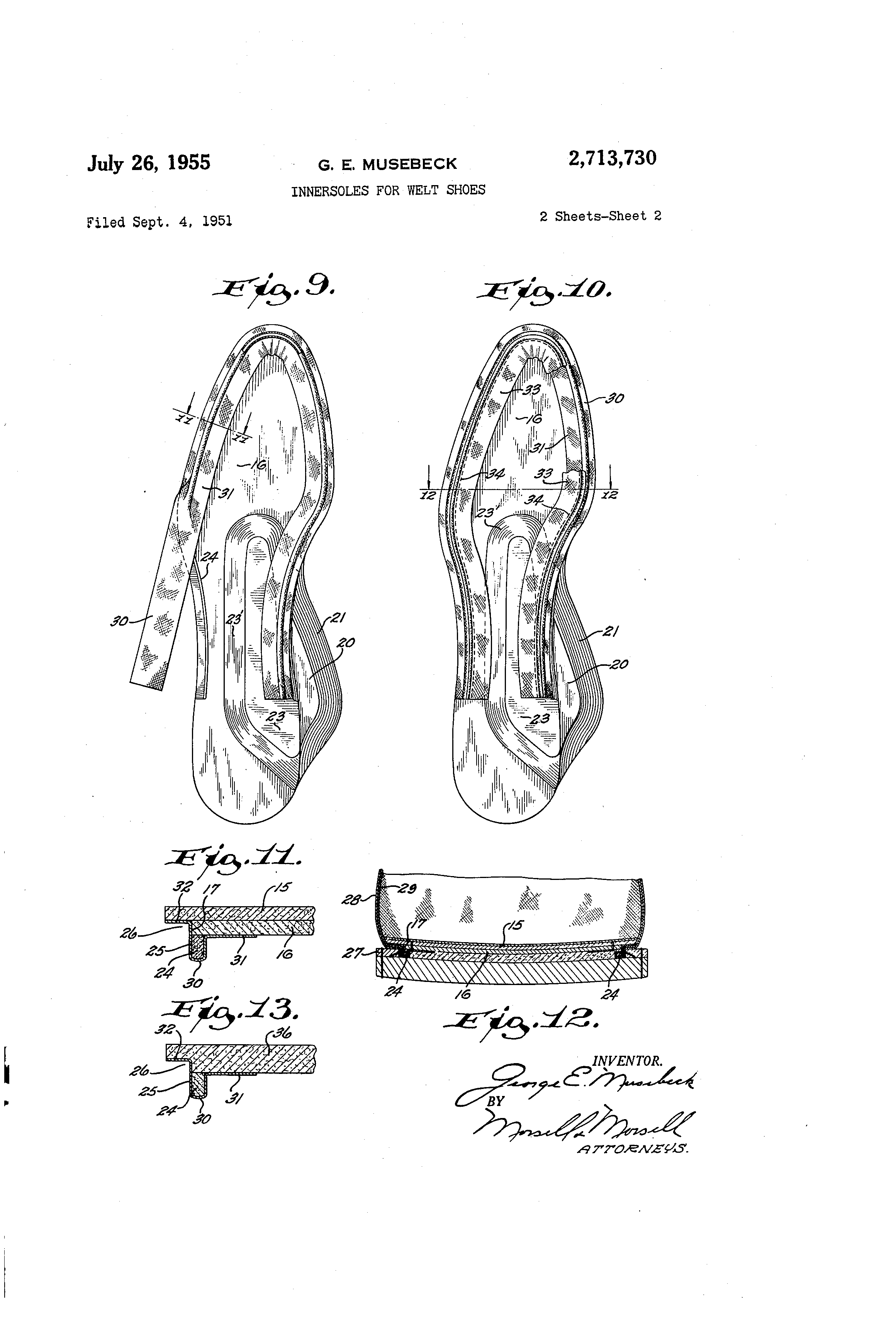 Foot-So-Port Patent
