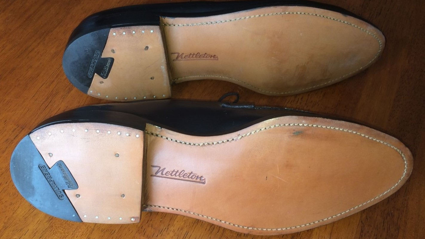 Nettleton leather soles