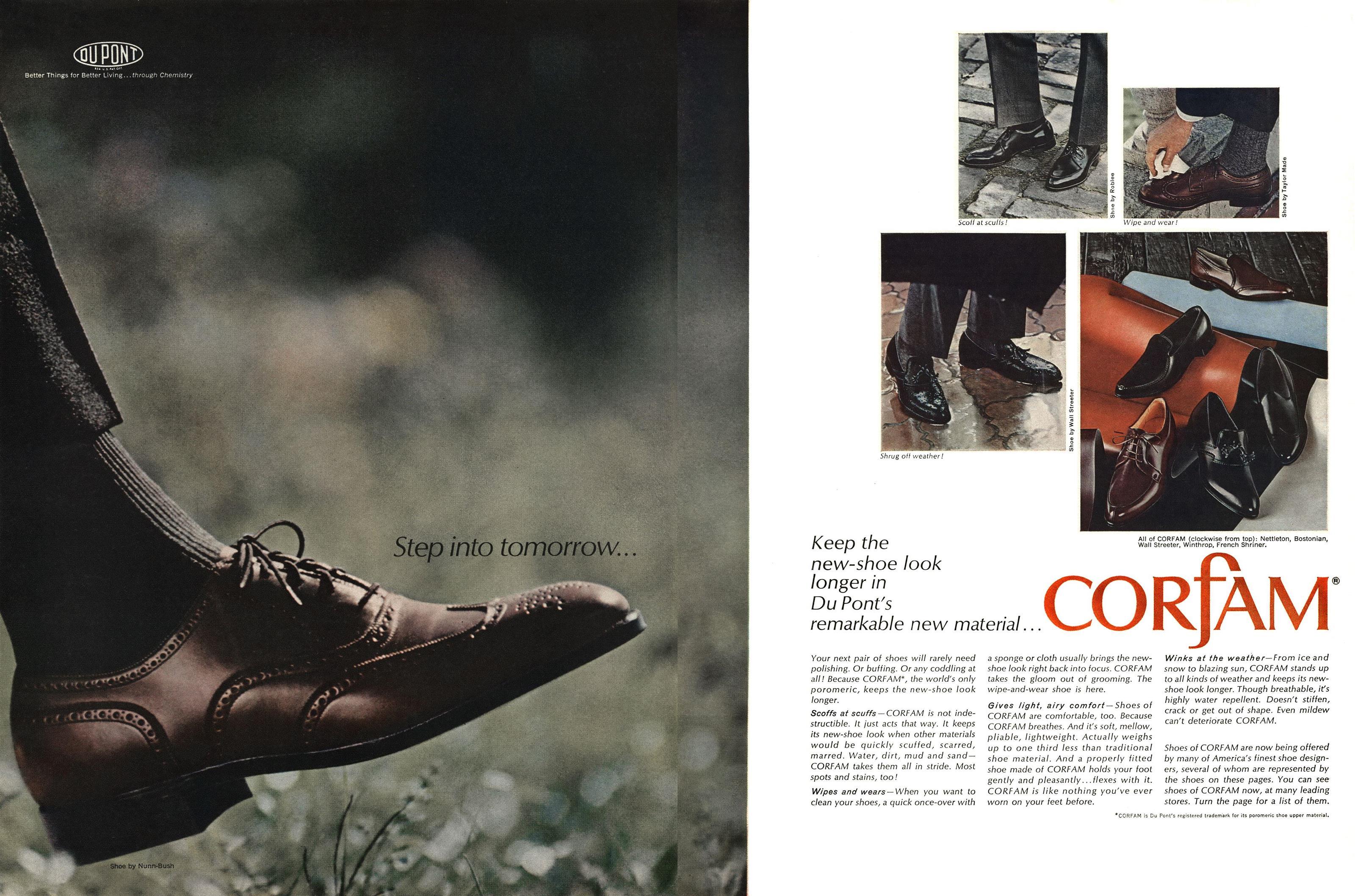 1964 Corfam Ad