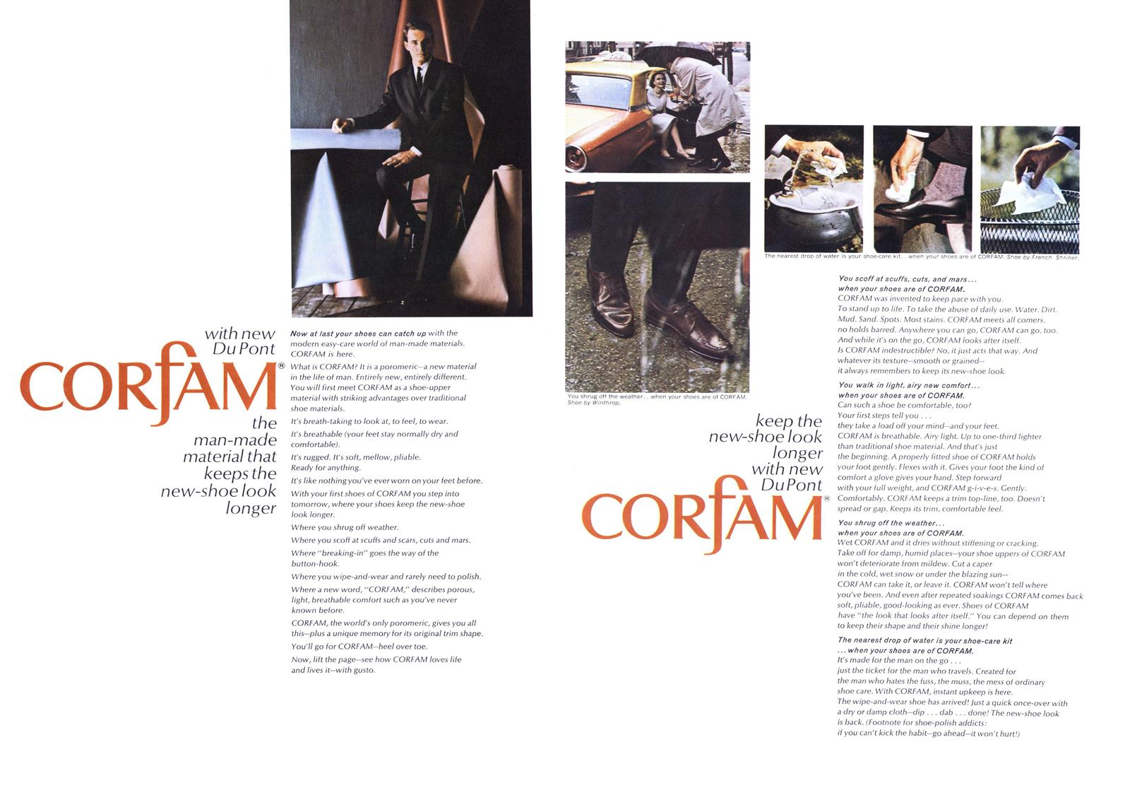 Corfam shoes