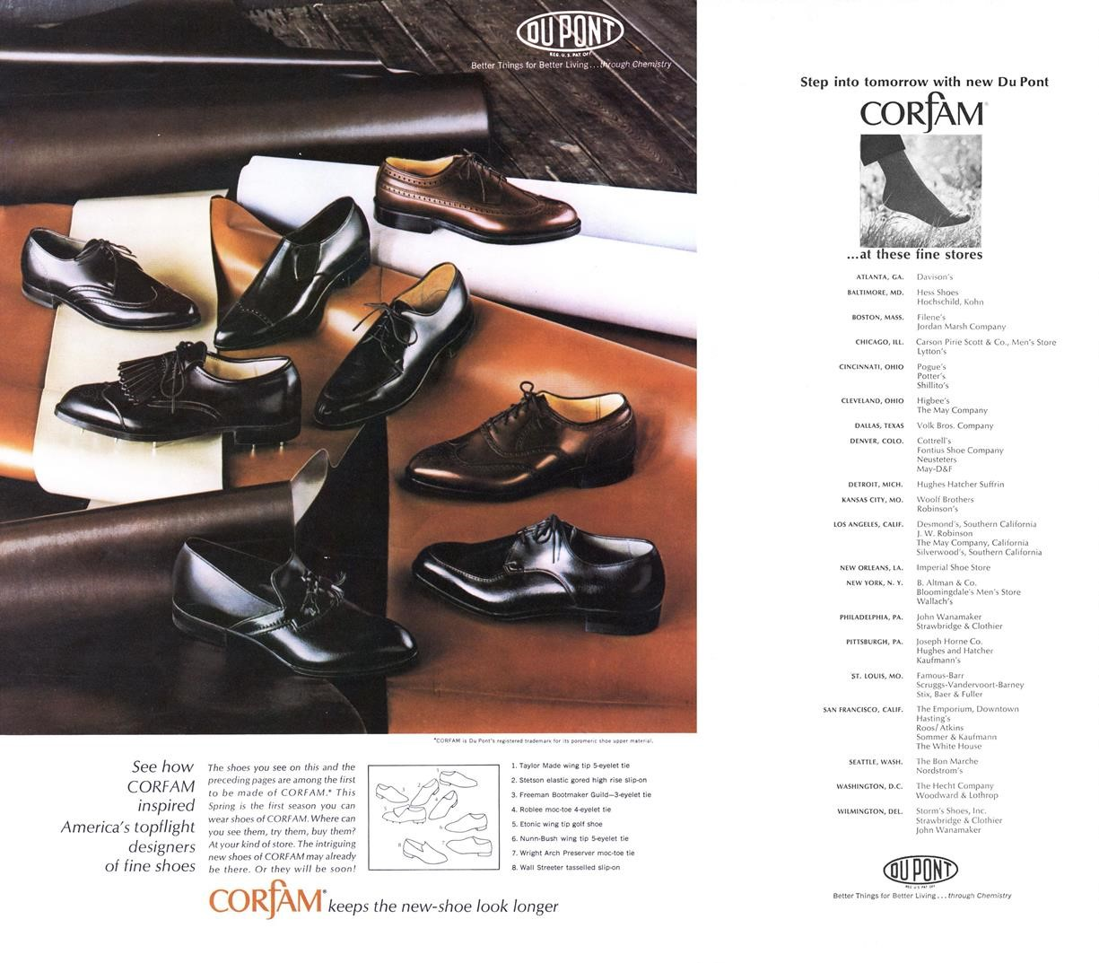 Vintage Corfam Shoes