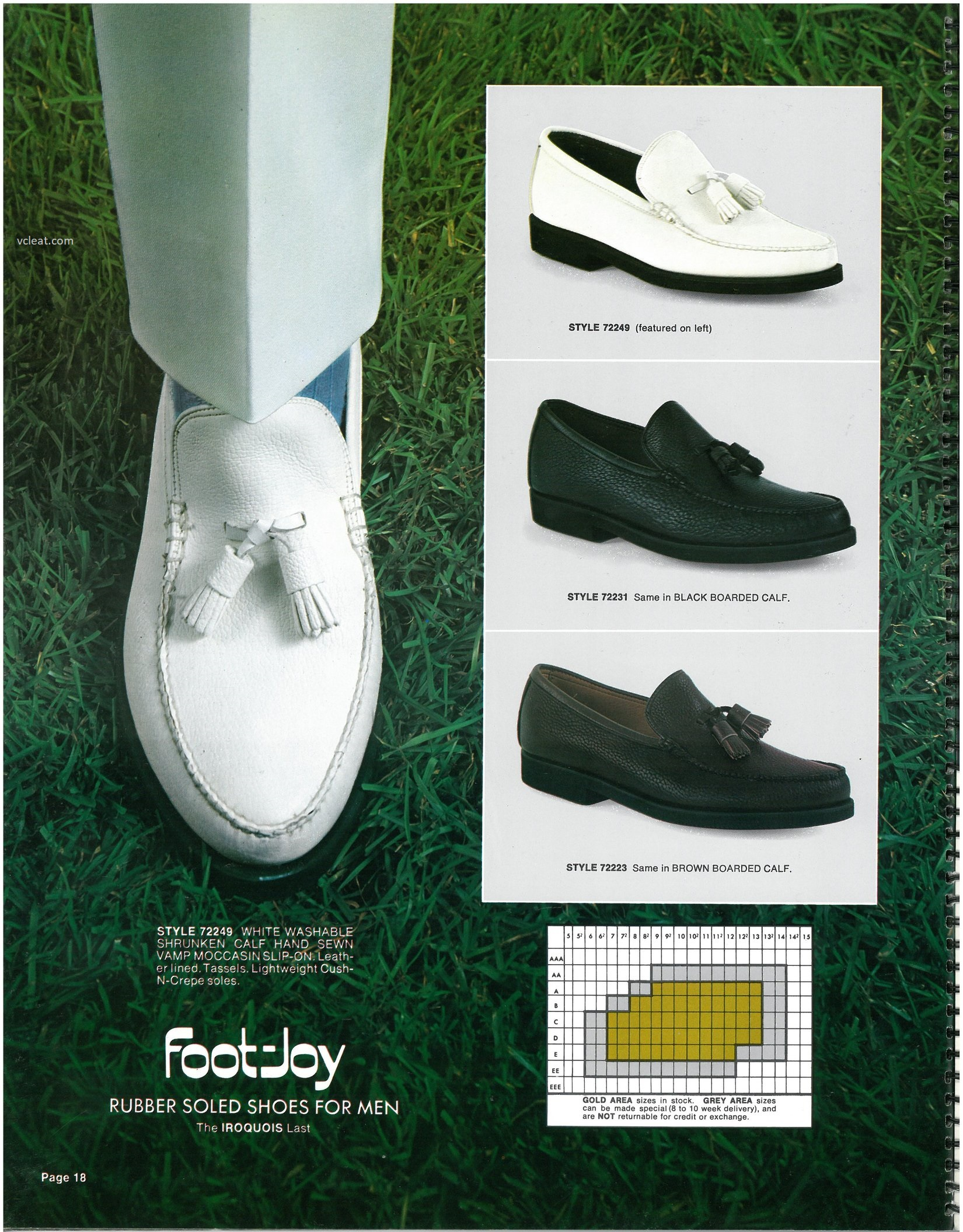 Foot-Joy Loafer 72249 72231 72223
