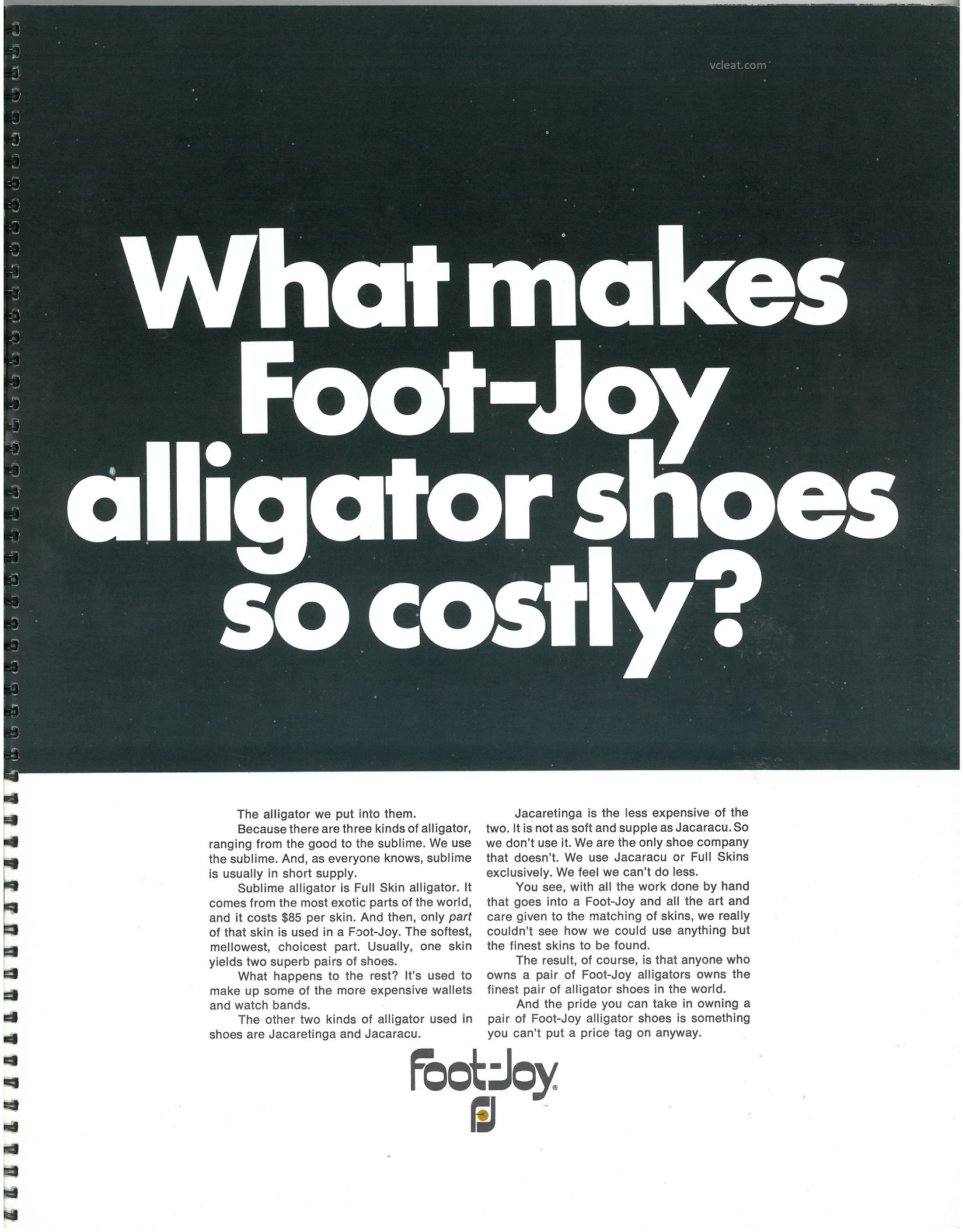 FootJoy Alligator