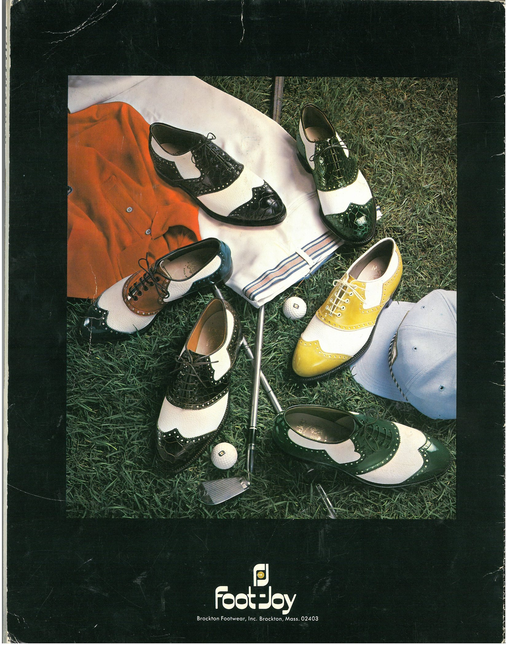 Vintage FootJoy Golf Brockton