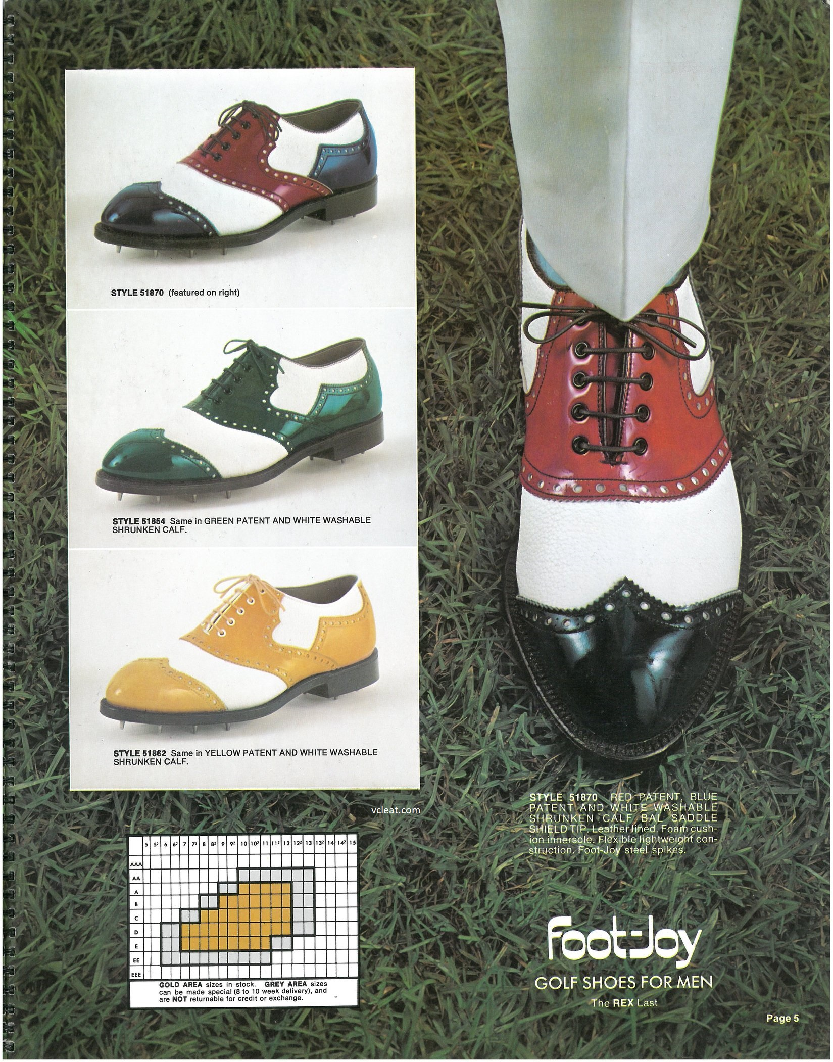 FootJoy 51870 51854 51862 Patent Leather