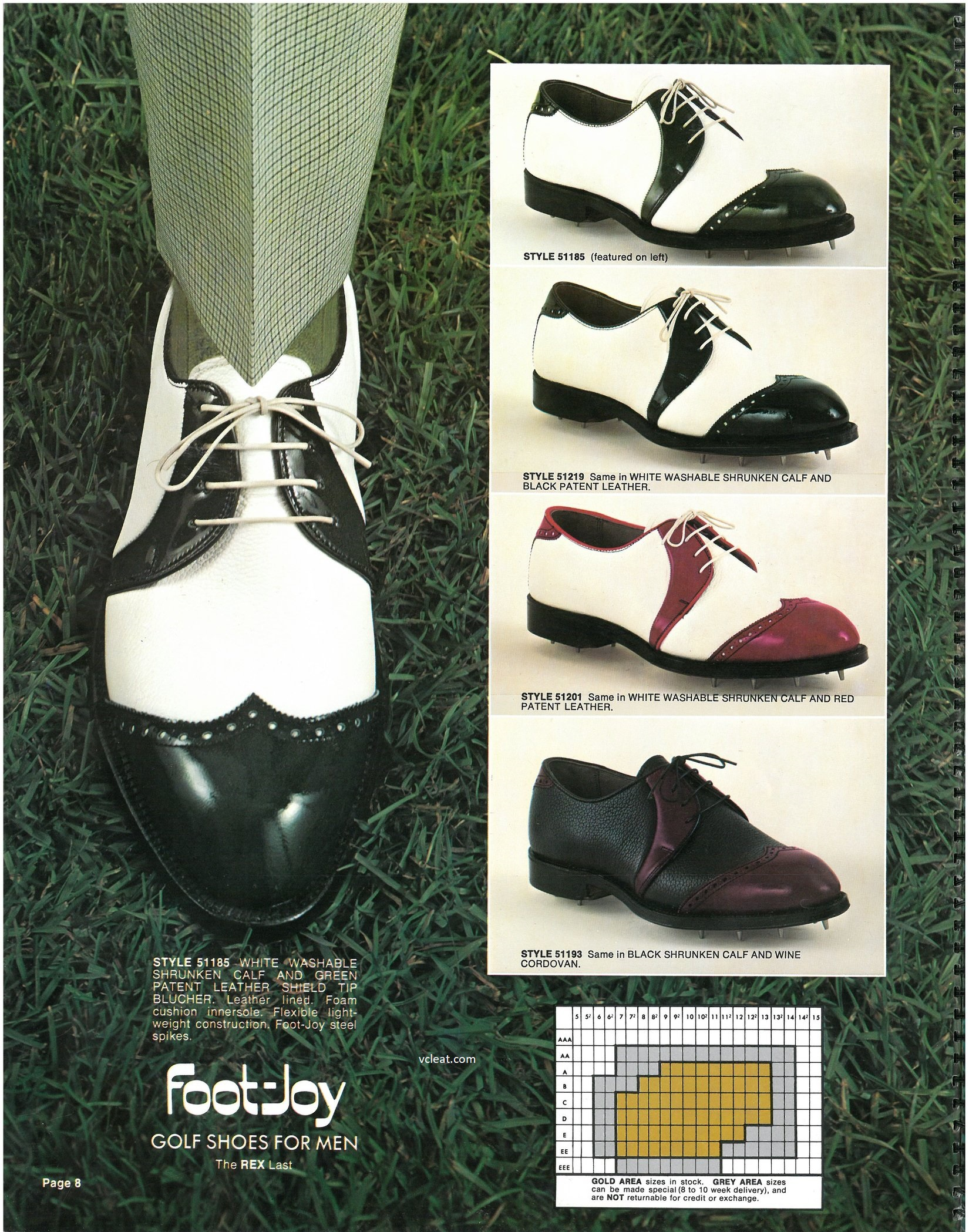 Old School FootJoy Spectator 51185 51219 51201 51193