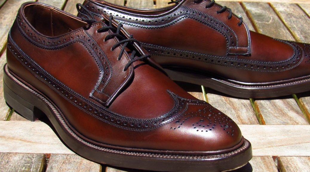 official photos e4ffd dad9b allen edmonds longwing