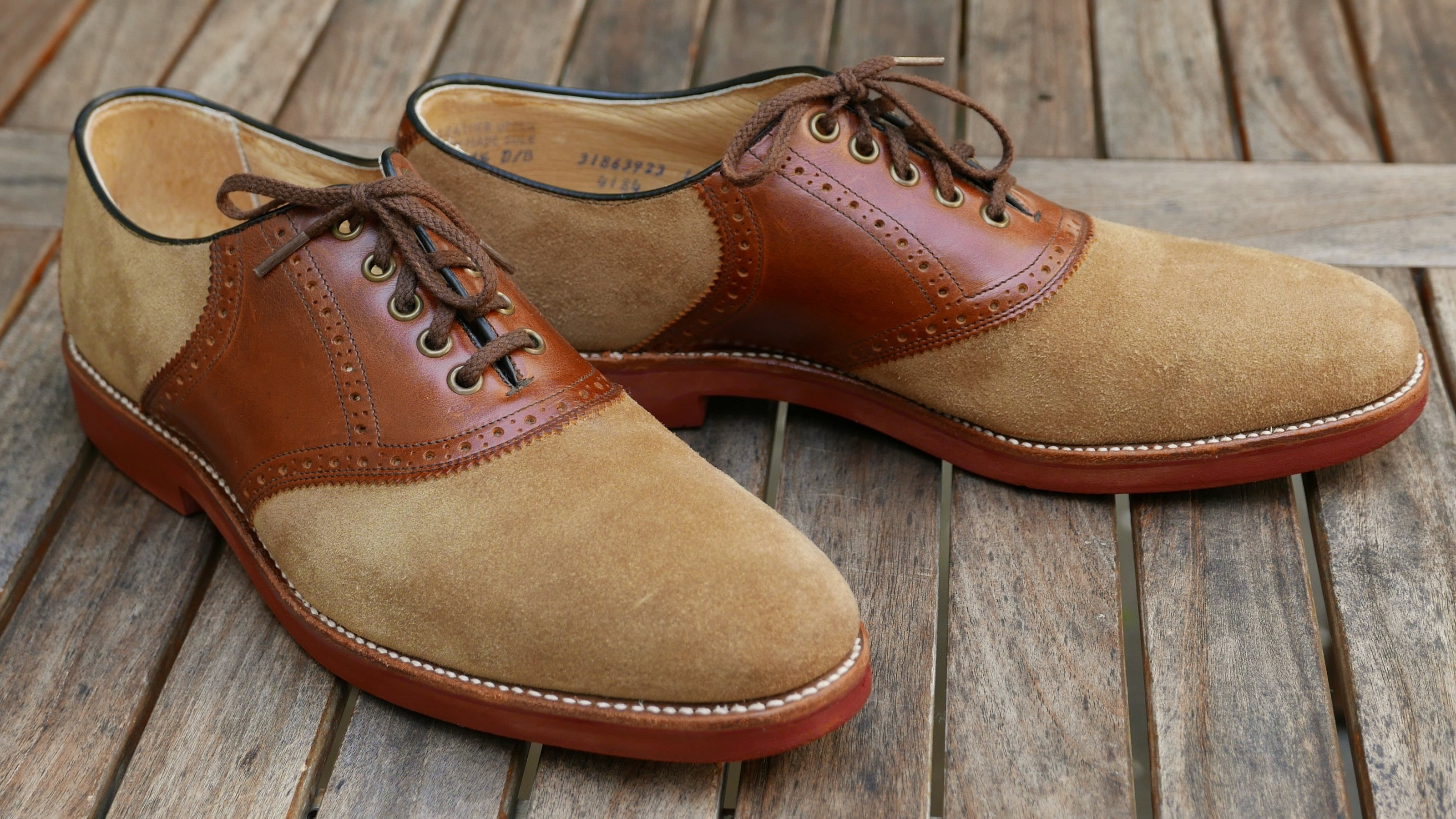 Hanover Saddle Shoes
