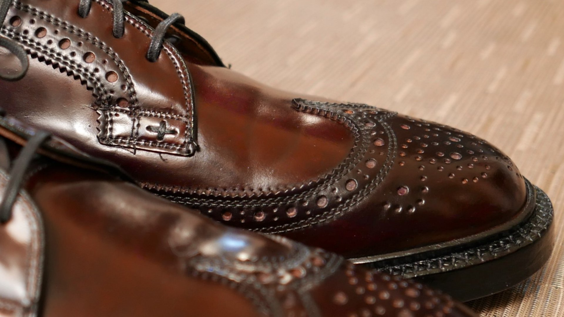 Nettleton Shell Cordovan Shoes