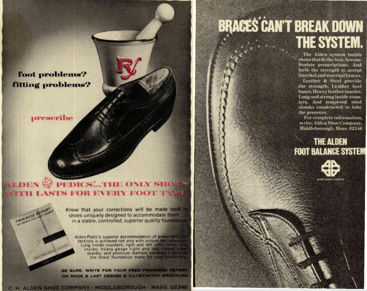 Vintage Alden Shoe Ad